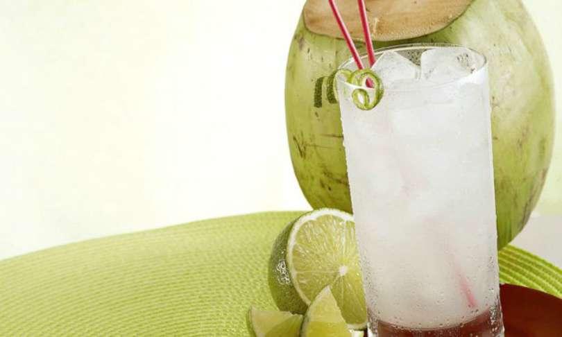 Gelo com sabor água de coco